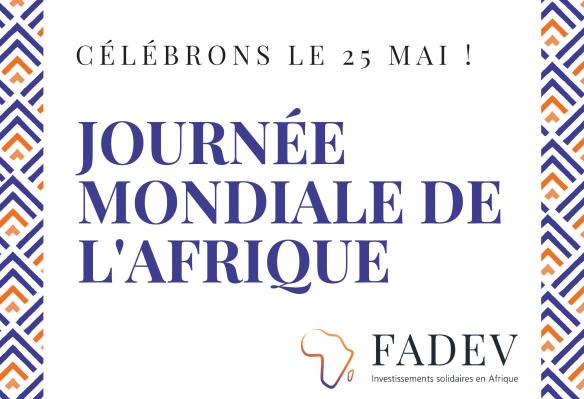Le 25 mai : Journée Mondiale de l'Afrique