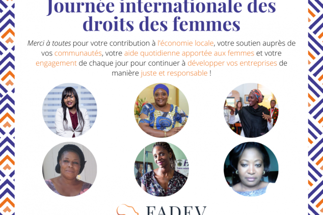 FADEV célèbre les femmes entrepreneures